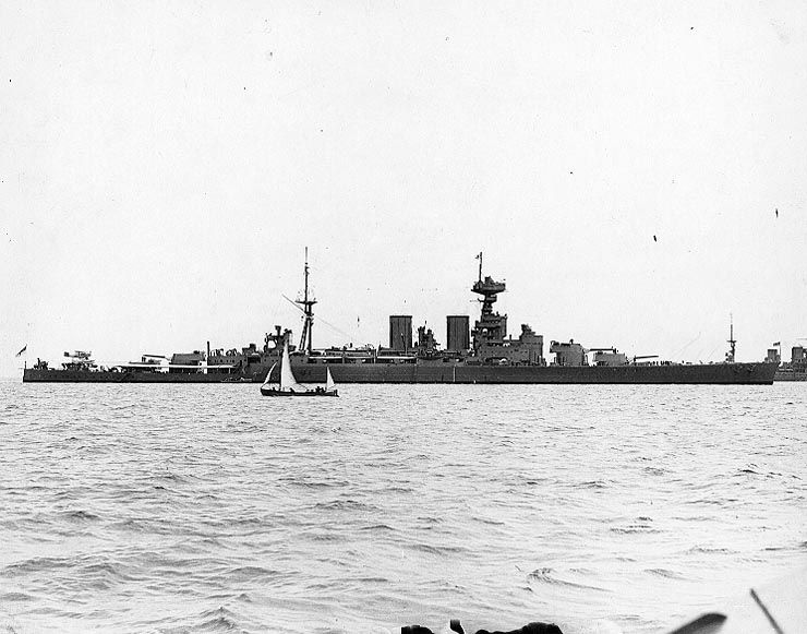 HMS Hood - 1930''s
