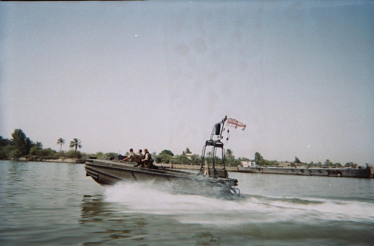 Royal Navy Training Team Op Telic 4