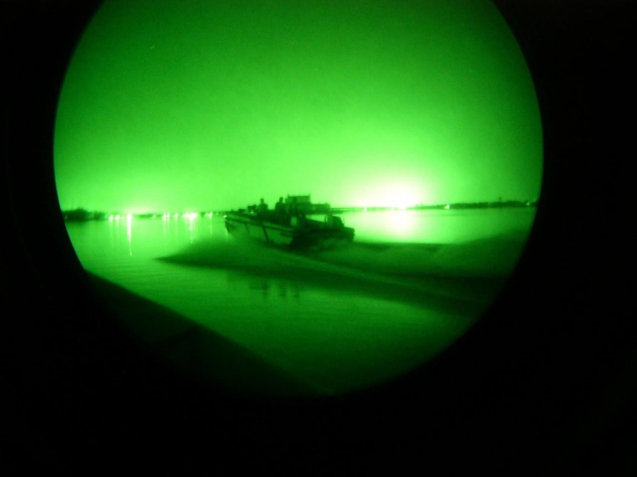 Royal Navy Training Team Night Patrol Op Telic 4