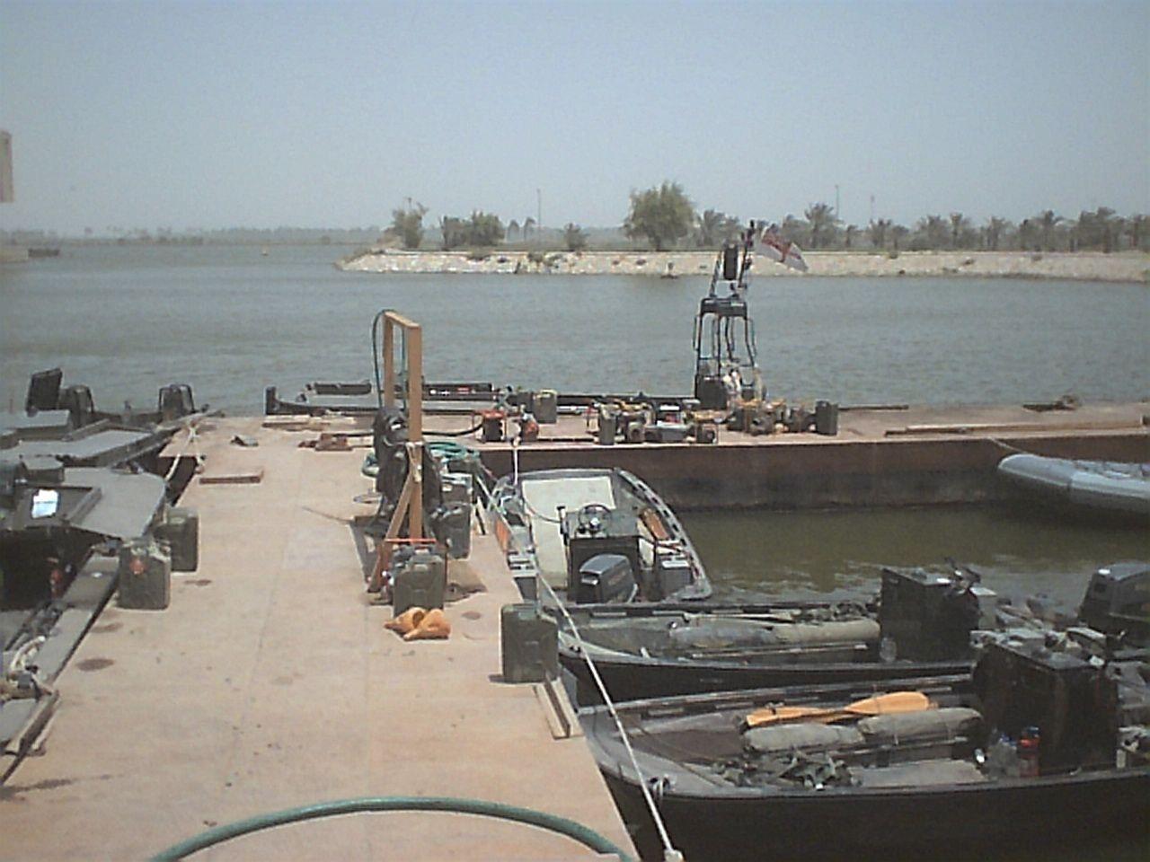 RNTT jetty, Basra Palace