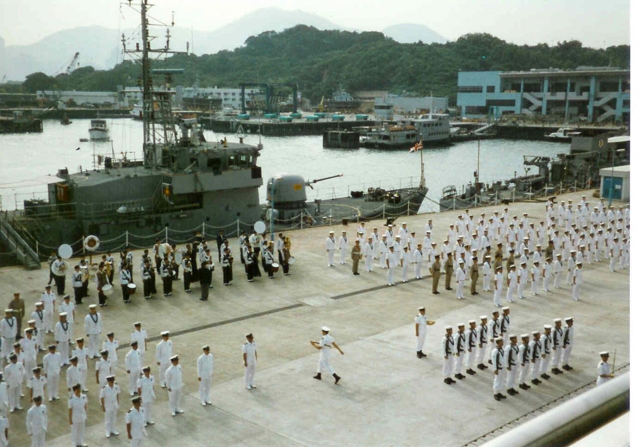 HMS Tamar LEP Final Divisions