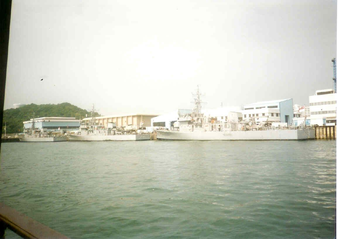 HK Squadron alongside Stonecutters island