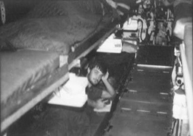 Diesel boat bunks