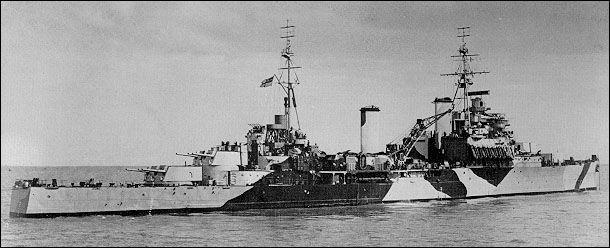HMS Jamaica, Korea