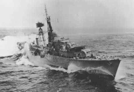 HMS Broadsword (1950s)