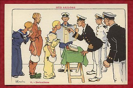 Our Sailors - Defaulters