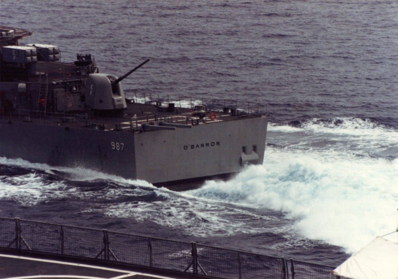 Destroyer, USS O'Bannon