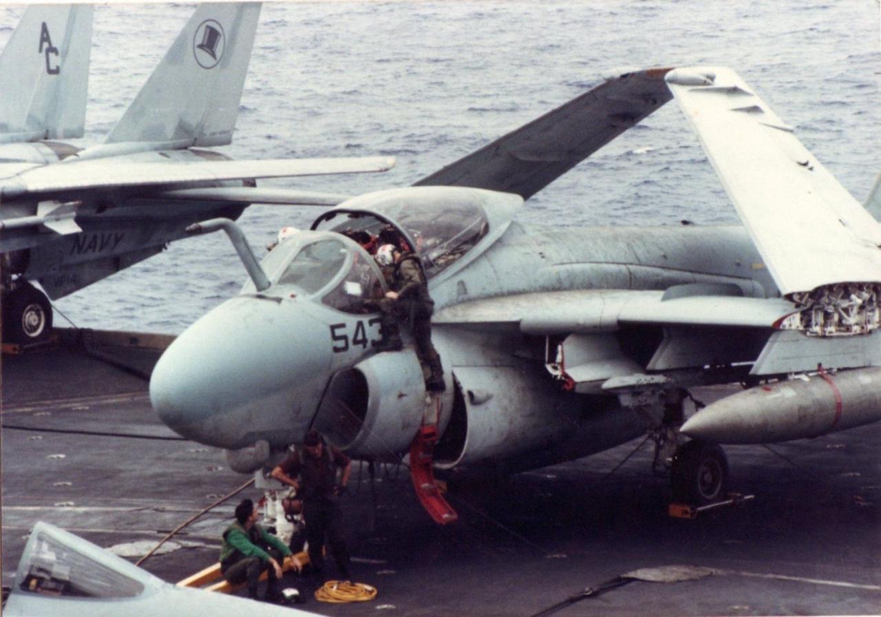 A-6E Intruder, USS Kennedy