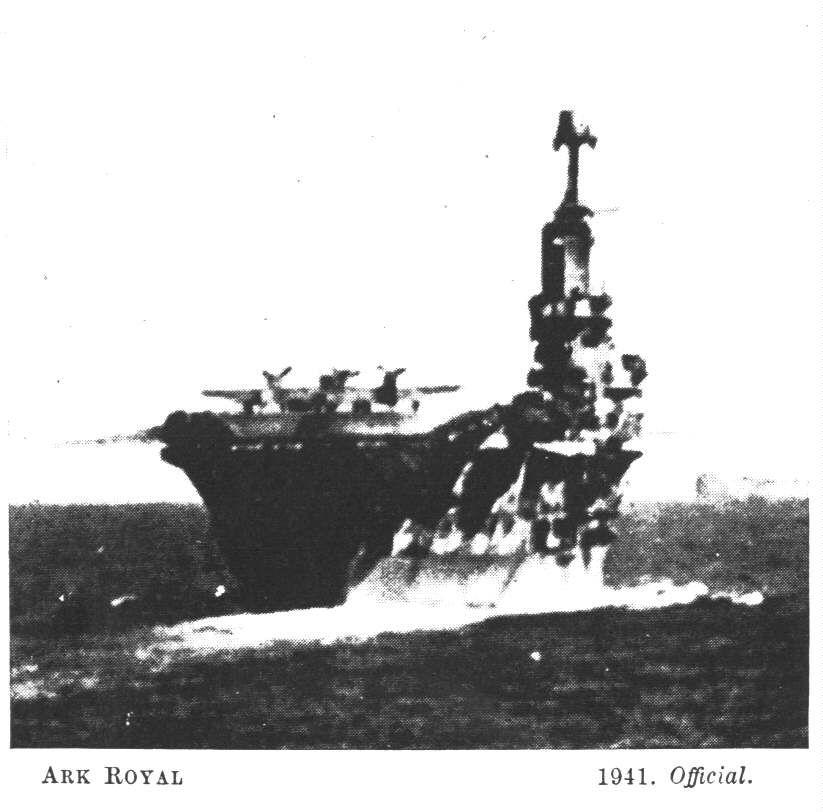 H.M.S. ARK ROYAL 1941