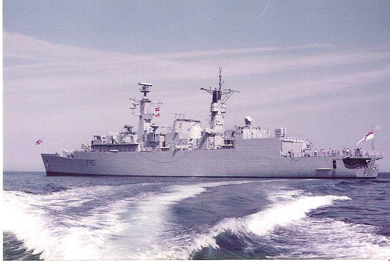 HMS Brilliant  1984