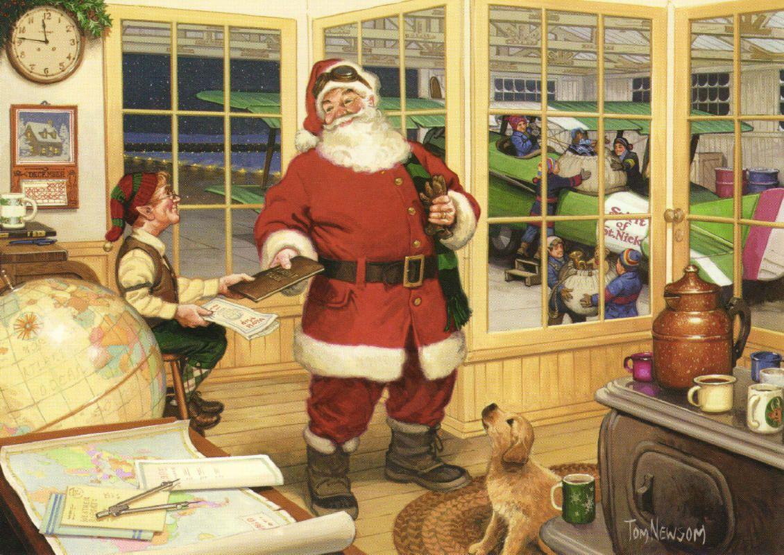 Strafin' Santa