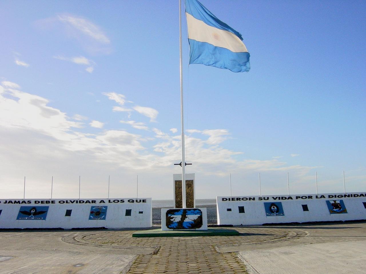 Argentine War Memorial - Tierra del Fuego