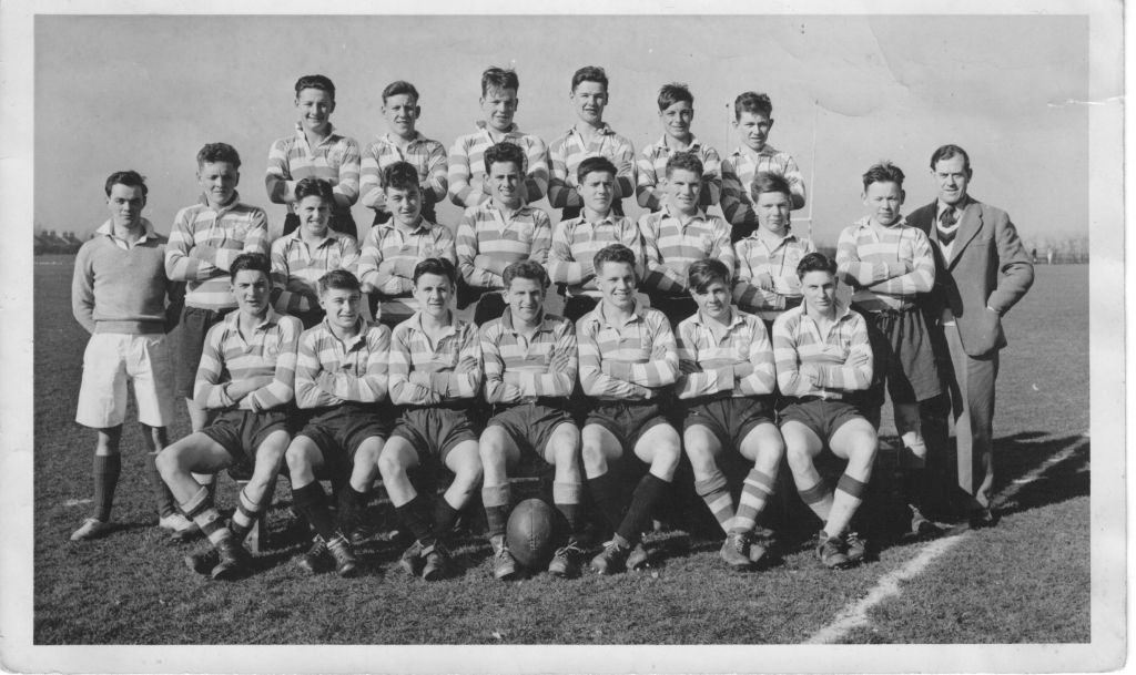 HMS Ganges rugby team 1954/55