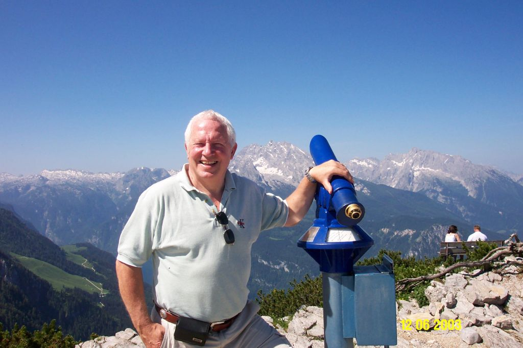 Hitler's Nest Berchtesgaden June 2003