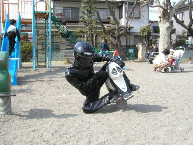Playground Biker