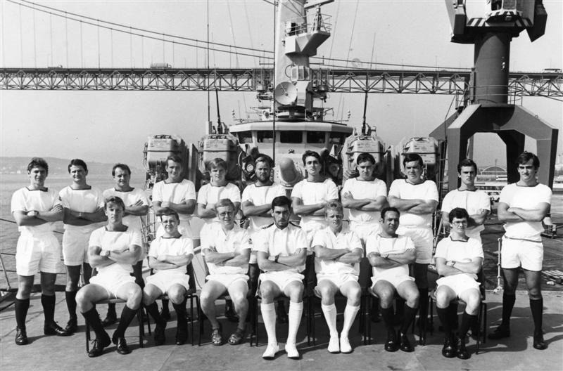 HMS PENELOPE Comms Dept circa 1983