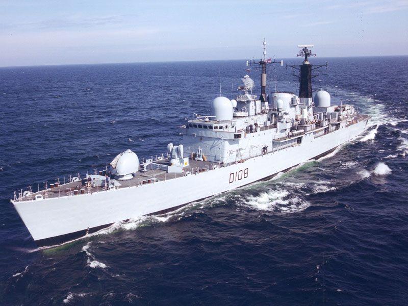 First sea draft....