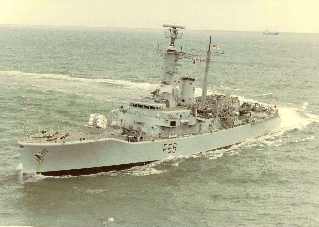 HMS Hermione 85-87