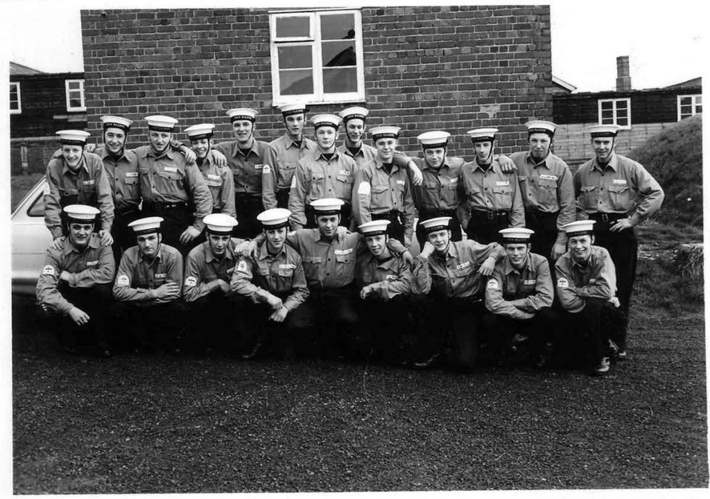 HMS Raleigh January 1967