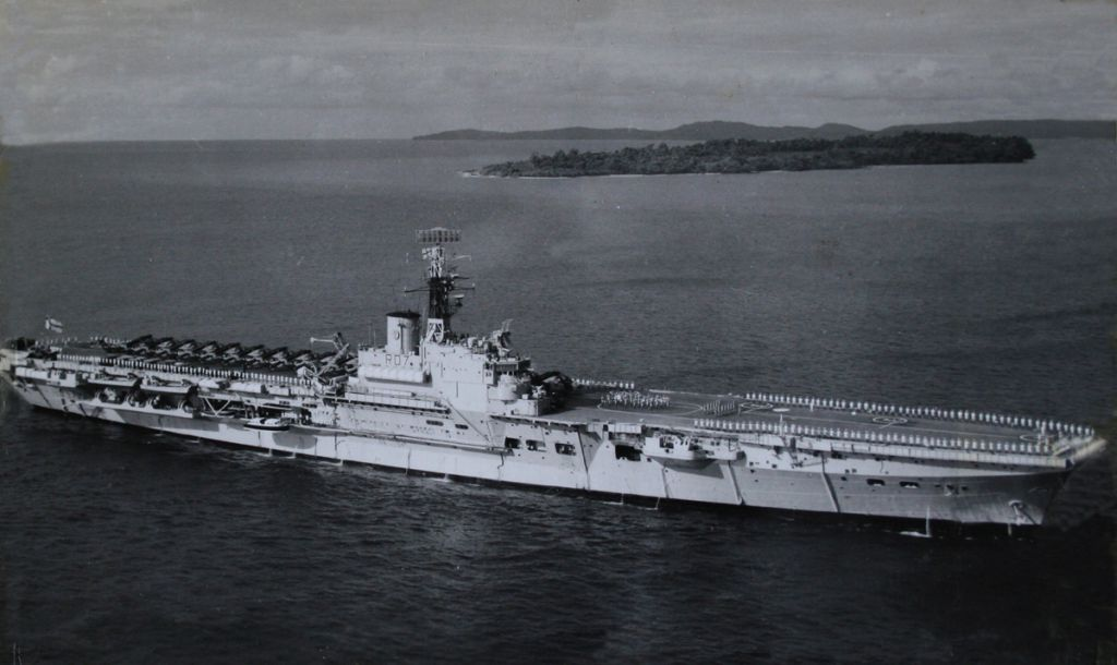 HMS ALBION LONG AGO