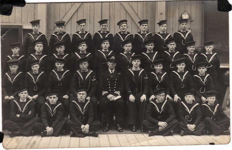 Intake of 1938 HMS Vincent