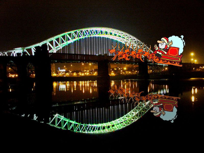 UFO SPOTTED OVER RUNCORN BRIDGE