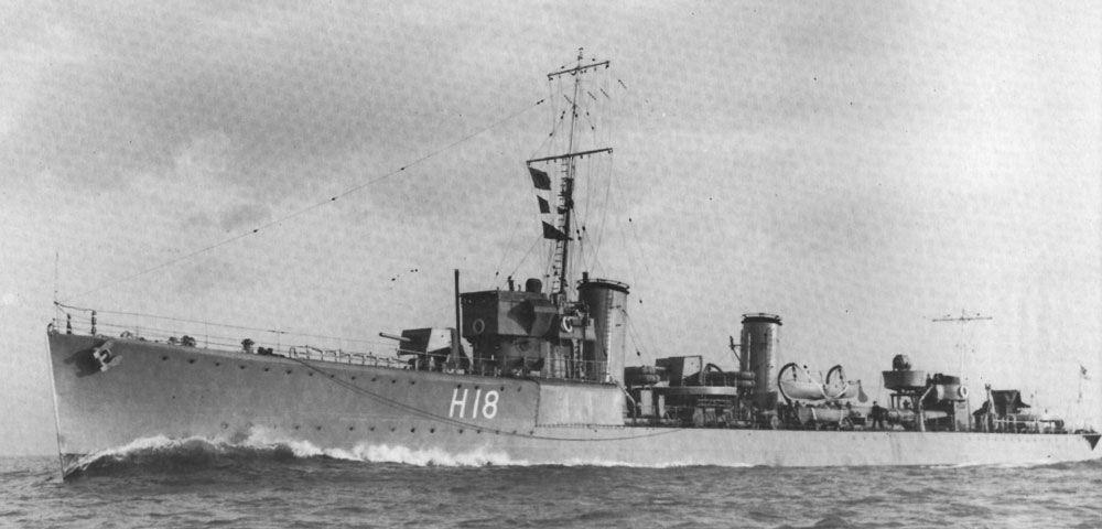HMS Sabre 1944