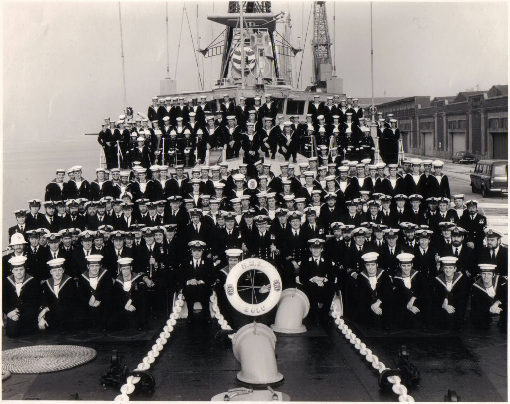 HMS ZULU Ships Co 1978