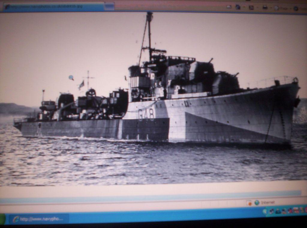 HMS Obedient G48