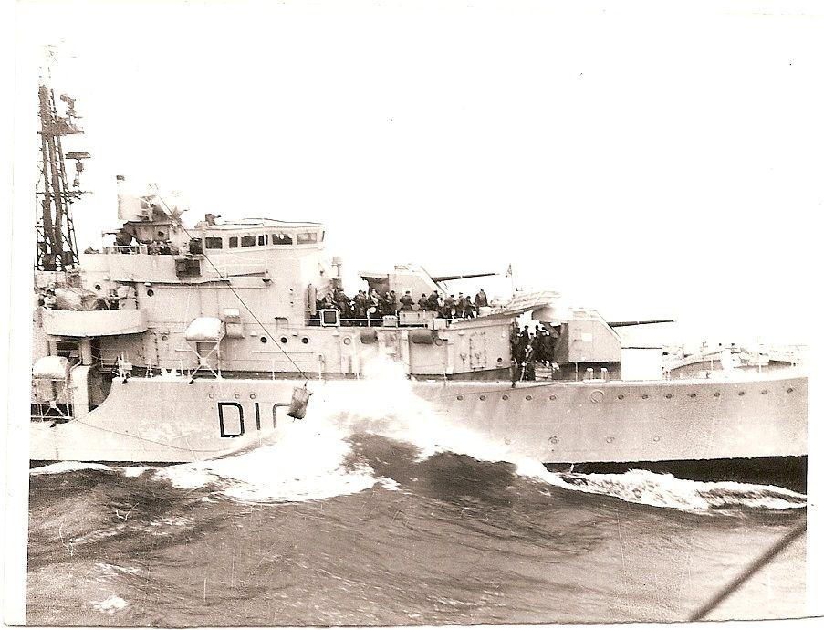 Cassandra ras'ing with HMS Adamant