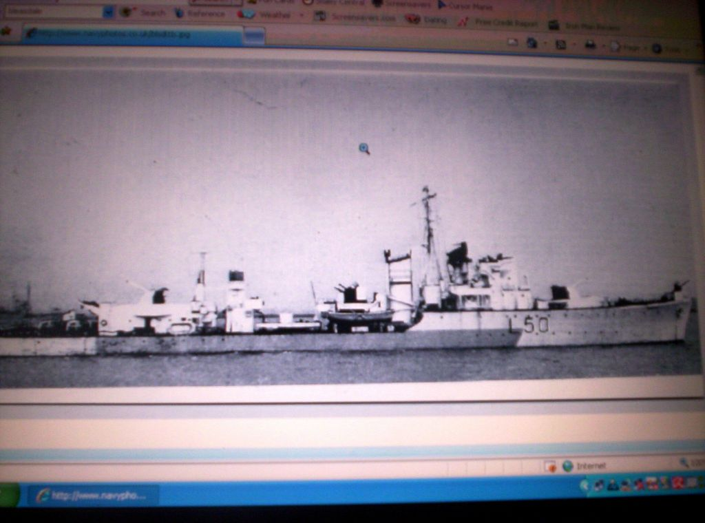 HMS Beasdale L50 Type 111 hunt