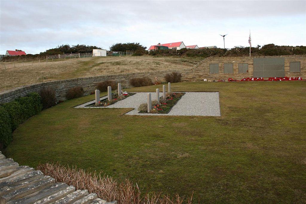 British War Cemetery at Blue Beach San Carlos