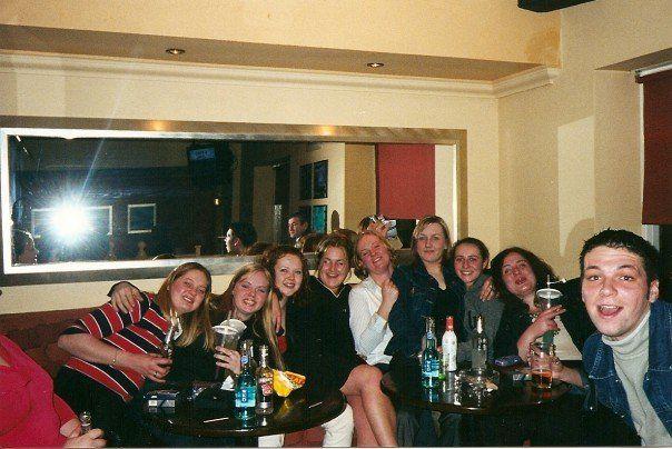 HMS CAmpbeltown's ladies in PR's - 2001