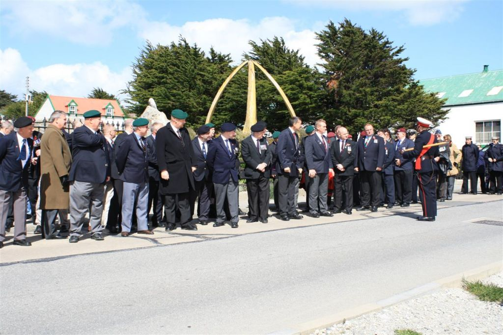 Falkland Islands Rememberance Parade