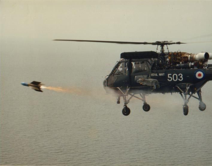 Wasp Missile Firing