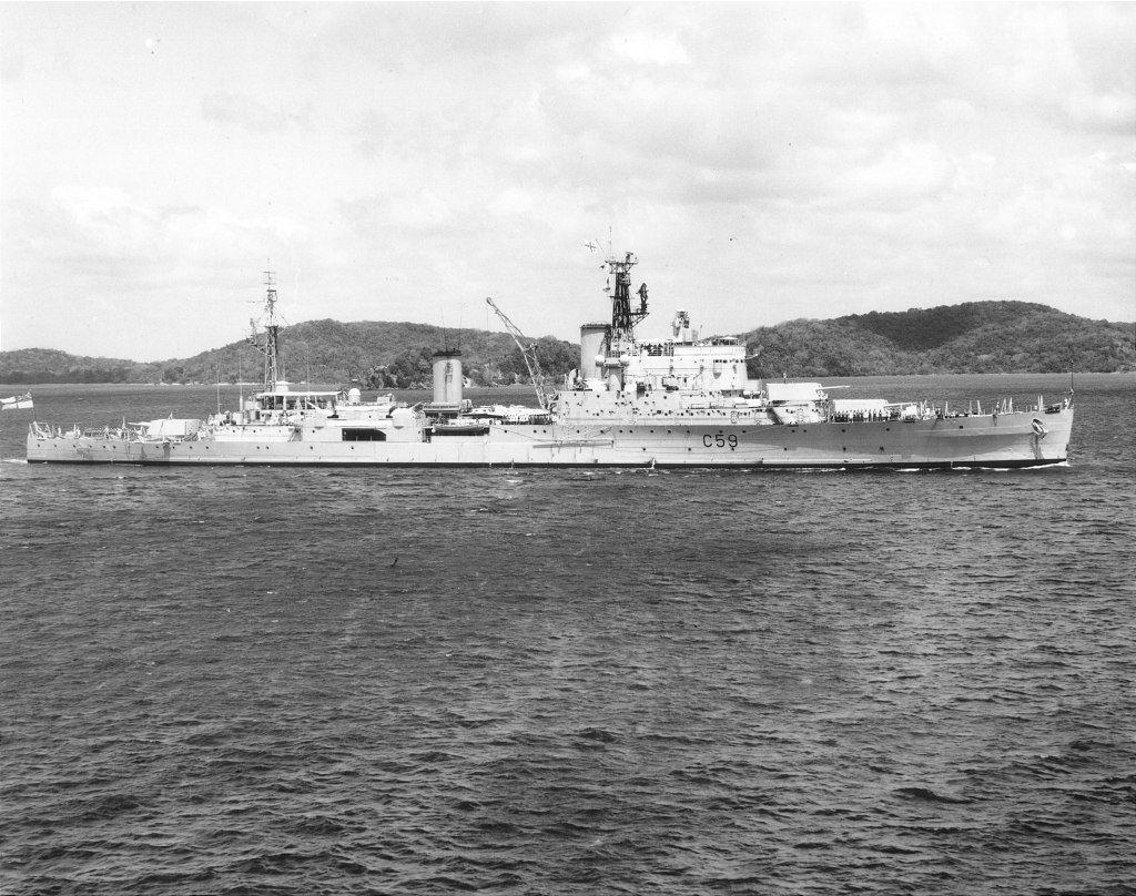 H.M.S. Newfoundland.