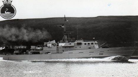 HMS Cygnet 1978