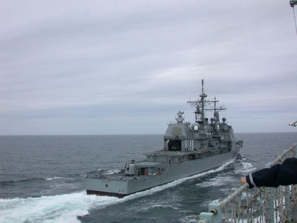 USS Leyte Gulf - Emergency 6