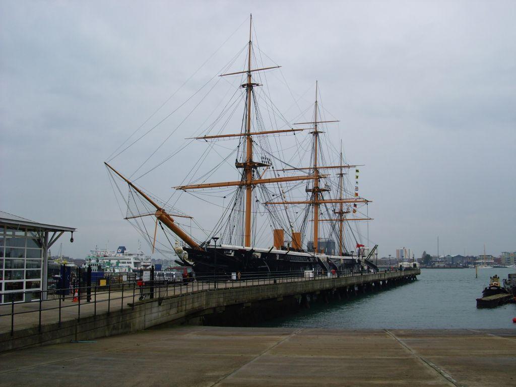 HMS Warrior, Portsmonth Historic Naval Dockyard, November 2007