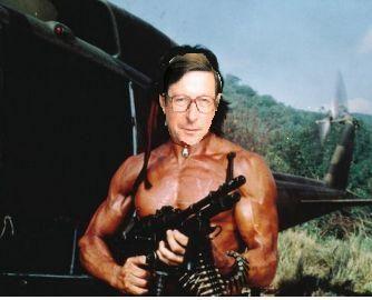 Max Hastings as Rambo