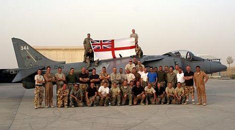 Ross Kemp visits Naval Strike Wing in Afghanistan