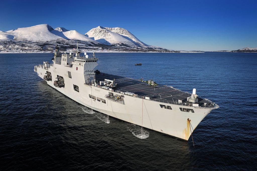 HMS OCEAN  - Norway 2010