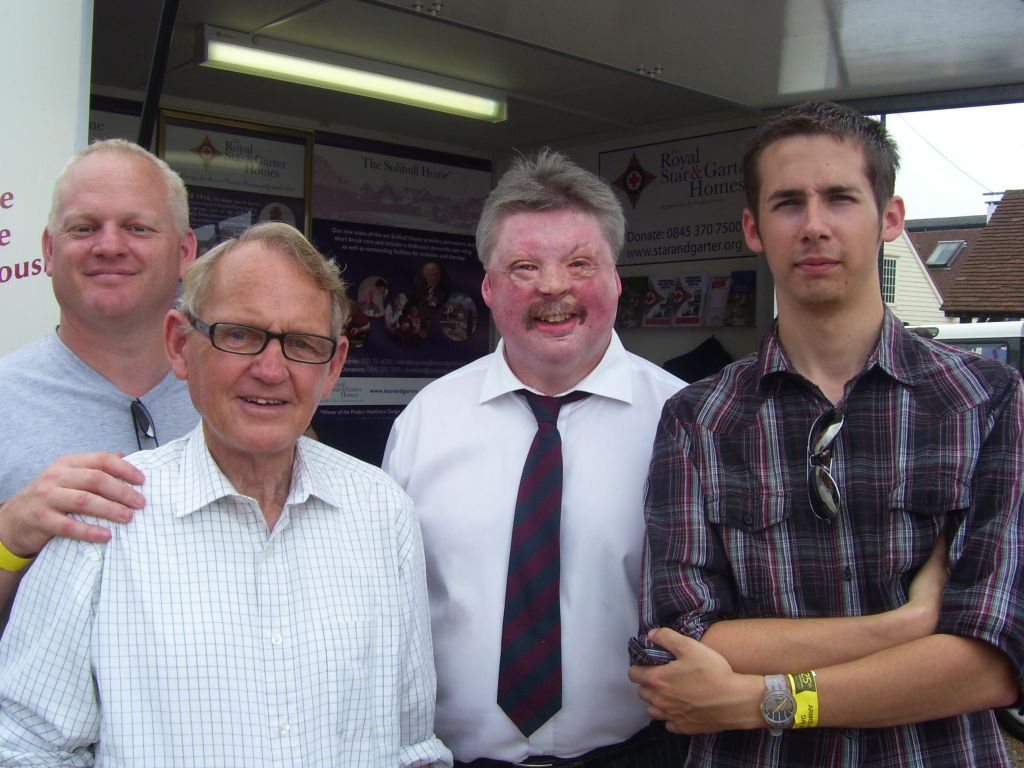 me, my grandad, my dad and the great simon weston