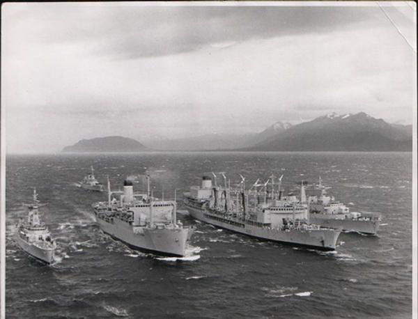 Ras in Magellan Straits 1968