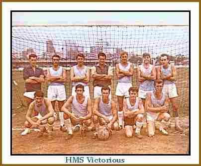 Hms Victorious Seamans football team Fes 1964-65