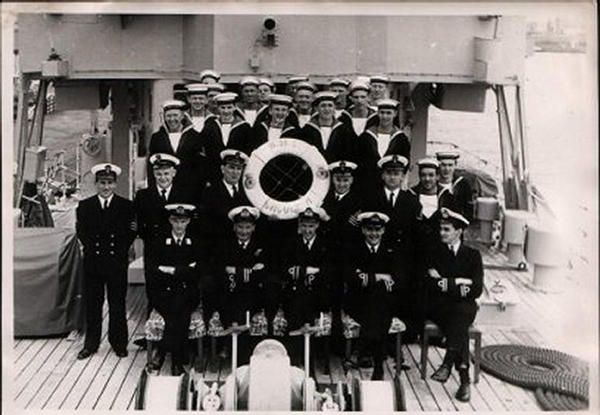 Hms Shoulton ships co 1963-64