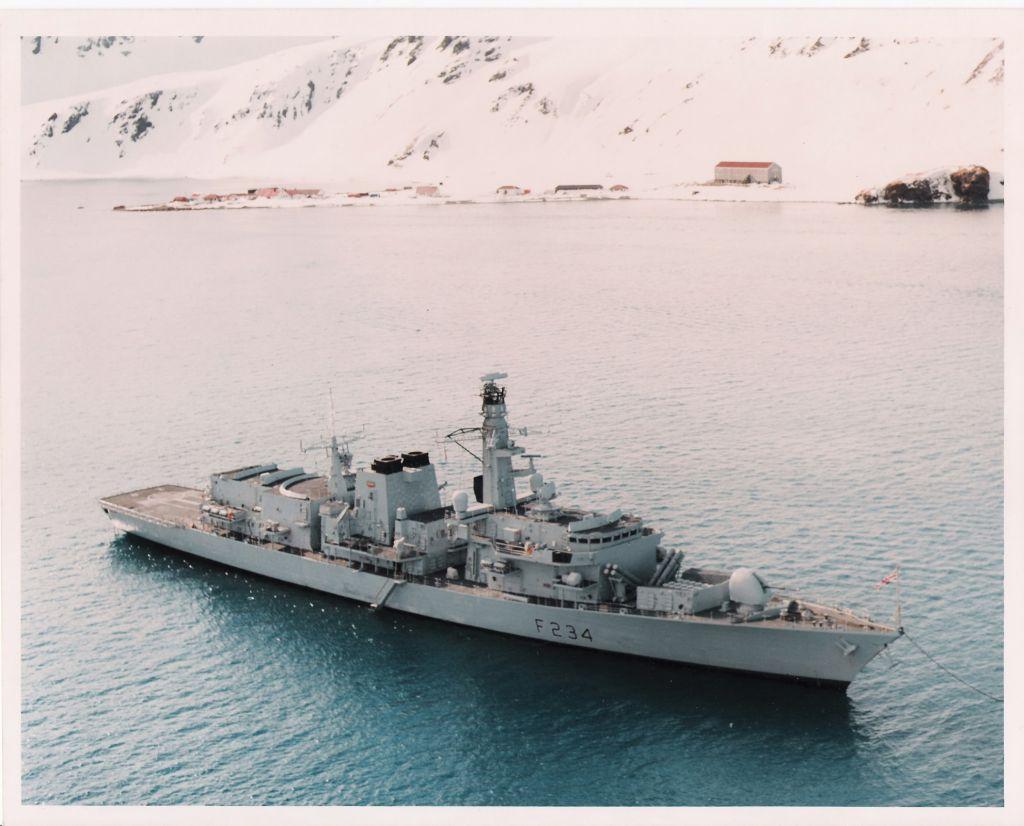 HMS Iron Duke - Down south