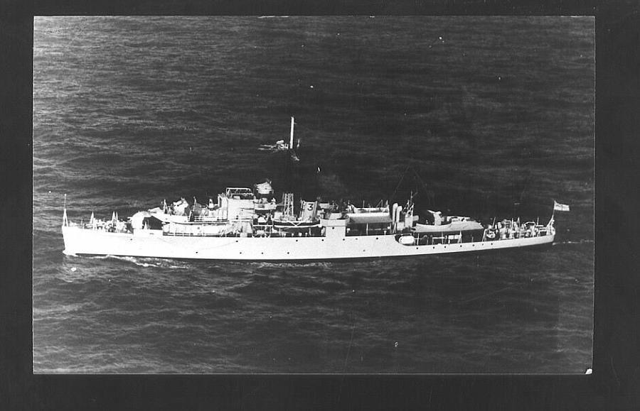 HMS Crane F123
