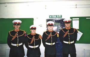 Buglers of Troop 1/00 RMSM