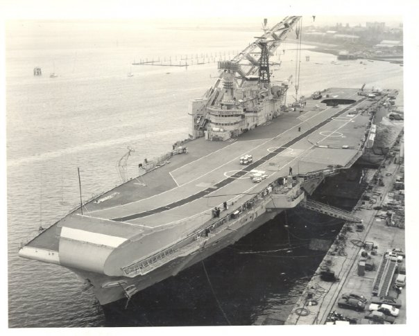 Hermes after refit in 81